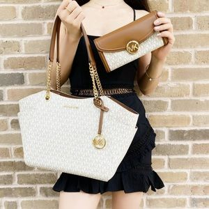 Michael Kors Tote with Large Wallet